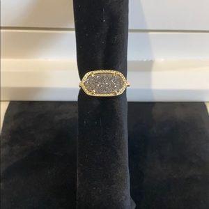 Kendra Scott Ella Drusy Ring size 6